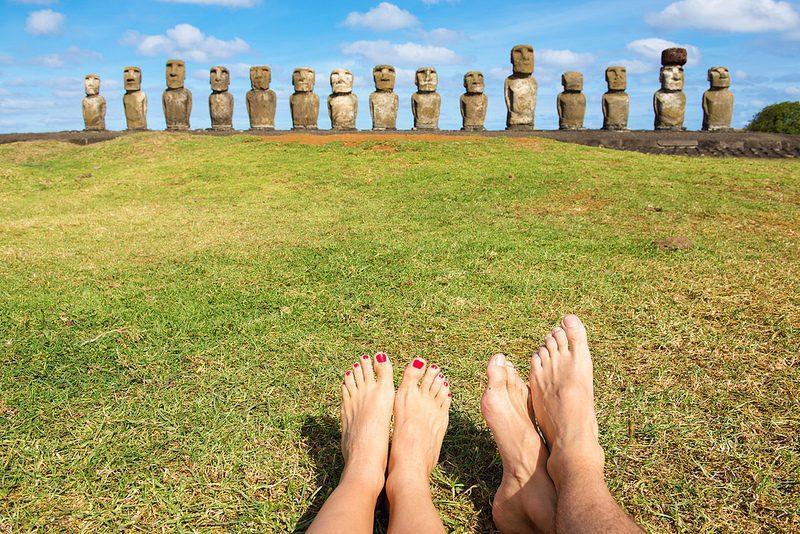 Visite de l'île de Pâques