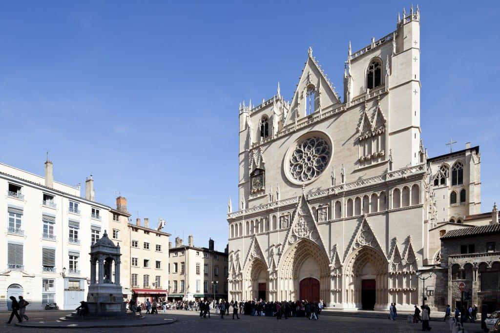 Cathédrale Saint-Jean à Lyon