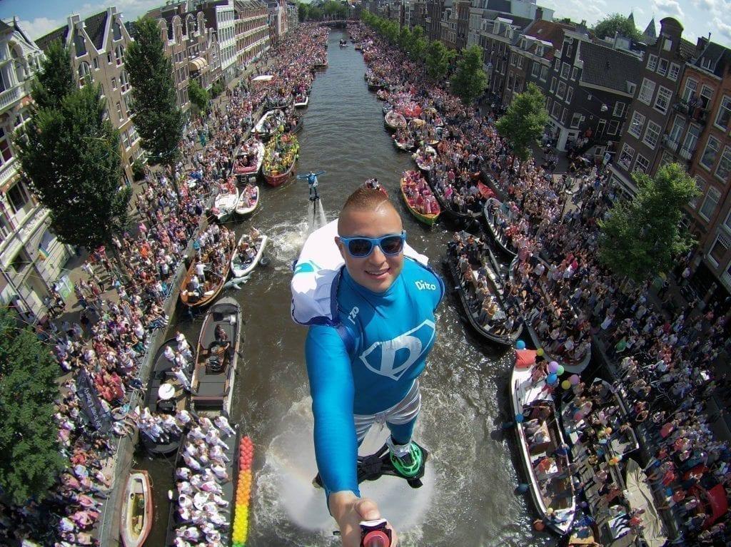 Gay Pride d'Amsterdam : Canal Pride