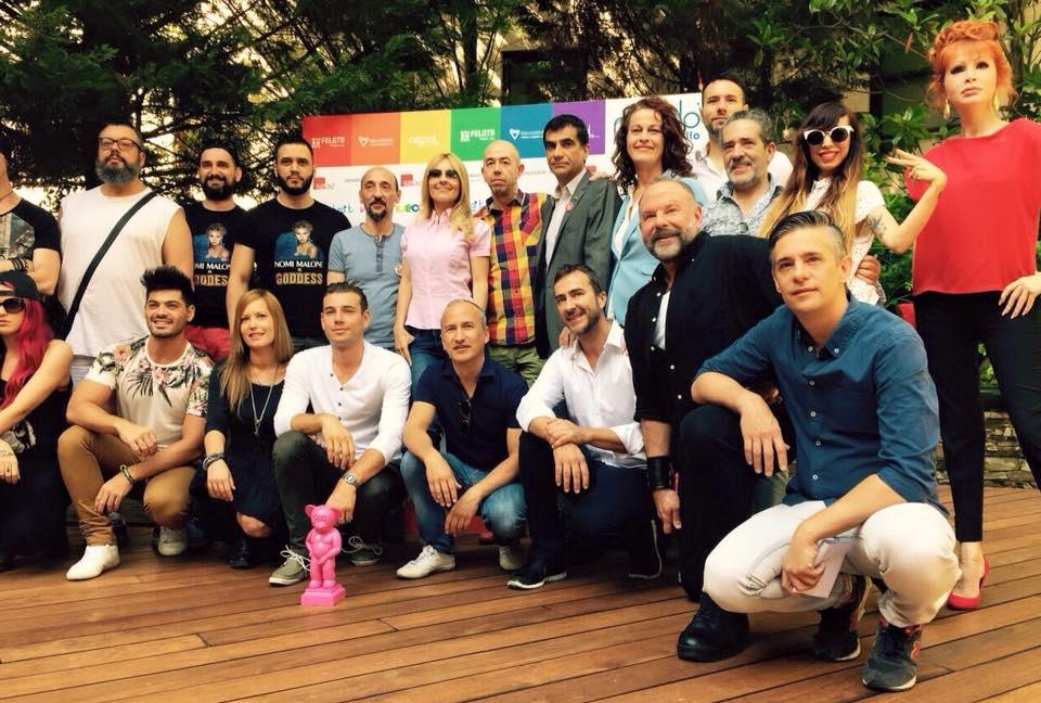 Cérémonie d'ouverture de la Gay Pride de Madrid