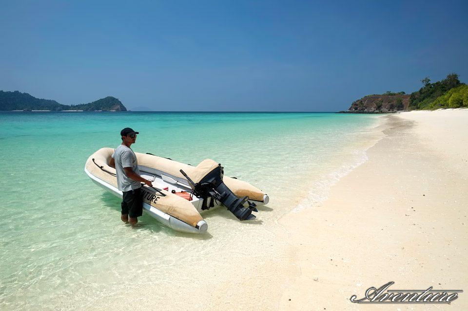 Visite des îles de Mergui
