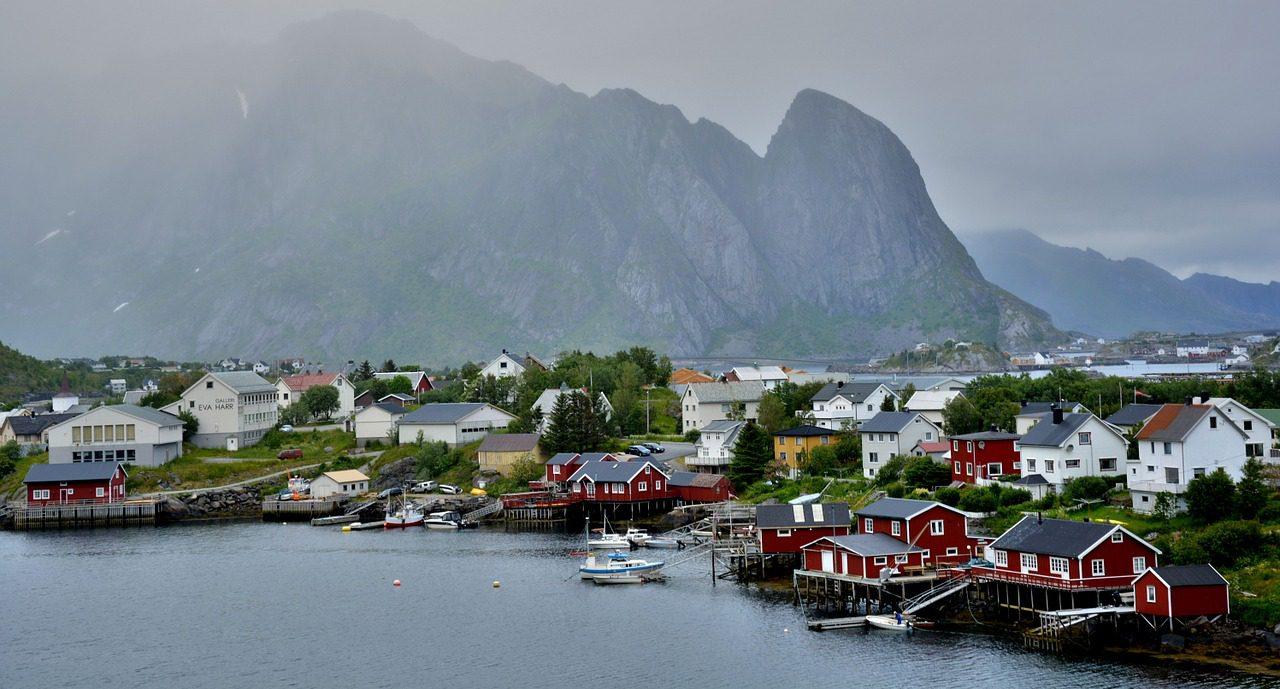 Des paysages émouvants de la Norvège