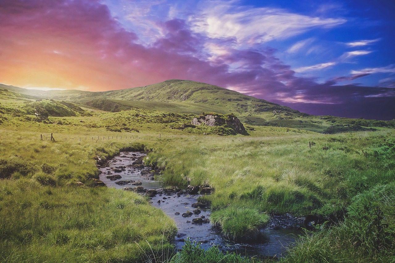 Irlande de la carte postale