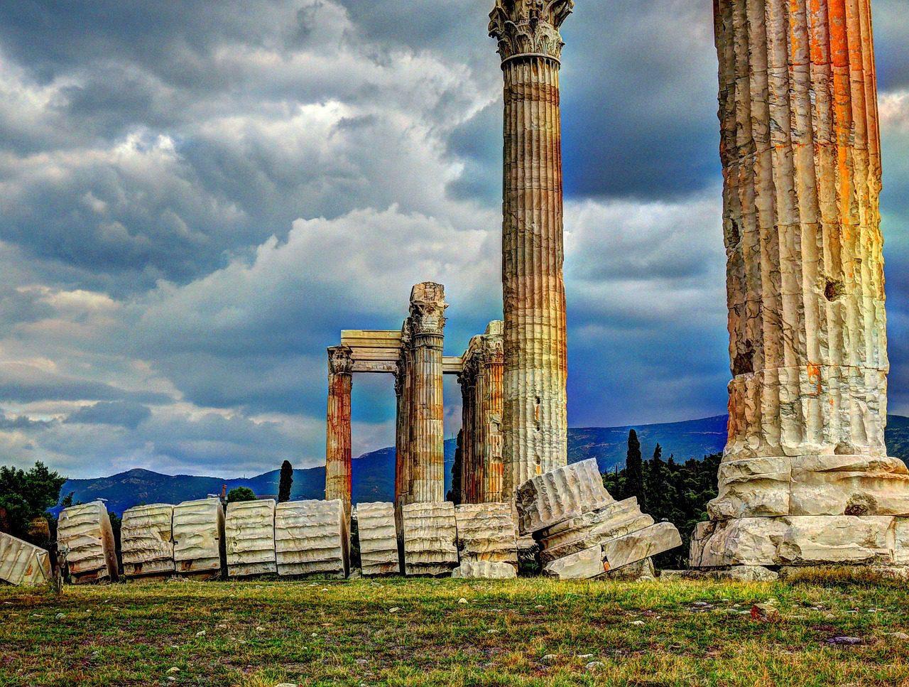 Plages et Ruines à Athènes