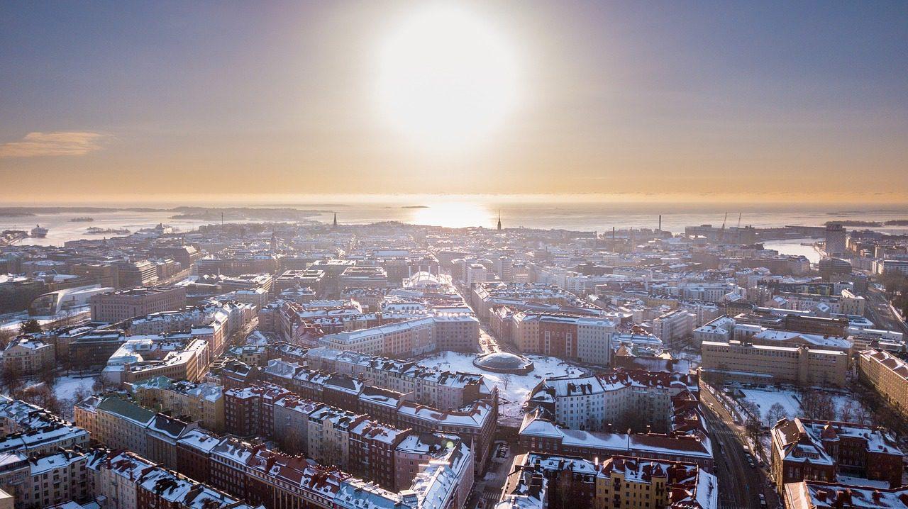 Helsinki en hiver