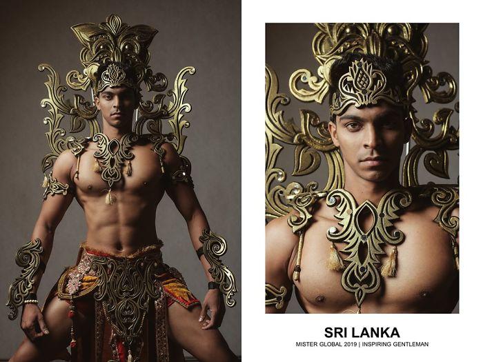 Mister Global : Sri Lanka