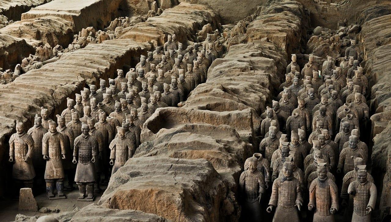 Armée de terre cuite, Chine