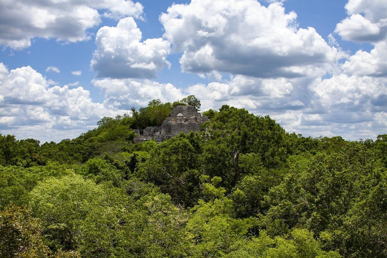Calakmul, Mexique