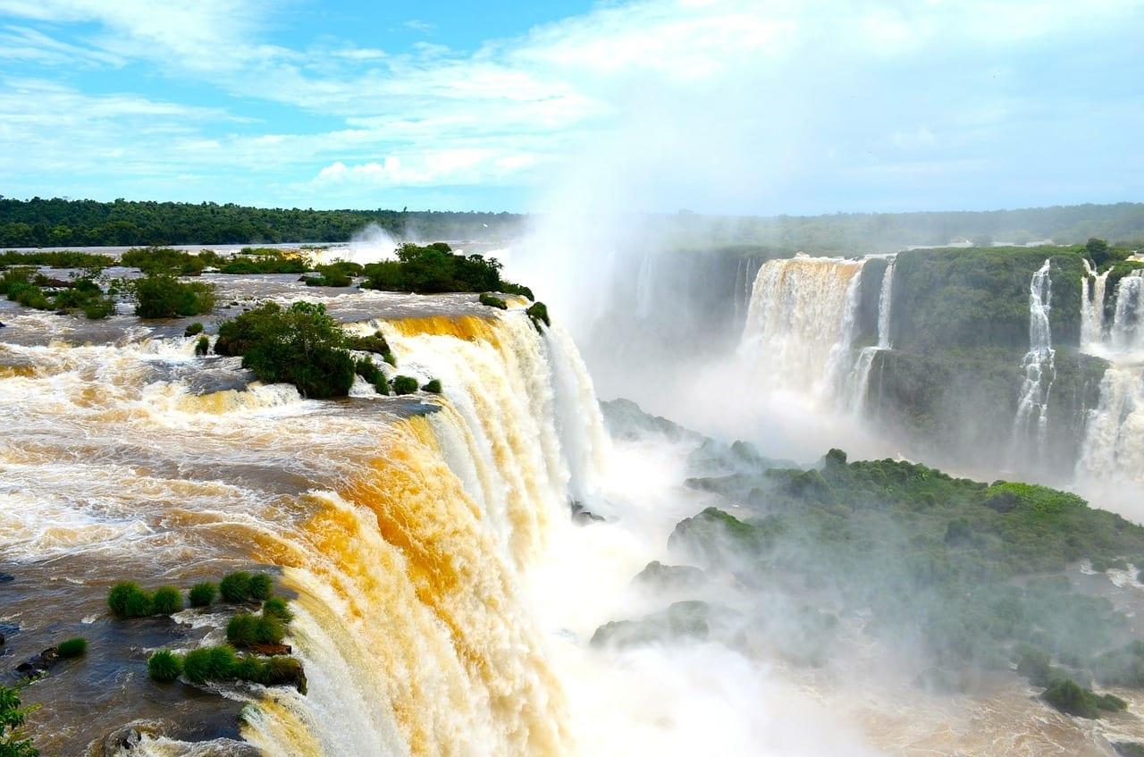 Chutes d'Iguazu, Brésil et Argentine