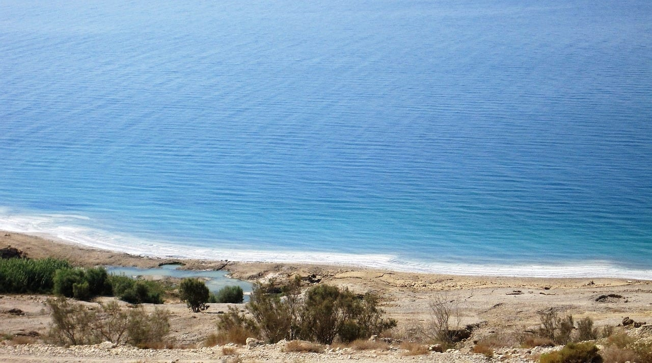 Mer Morte, Israël et Jordanie