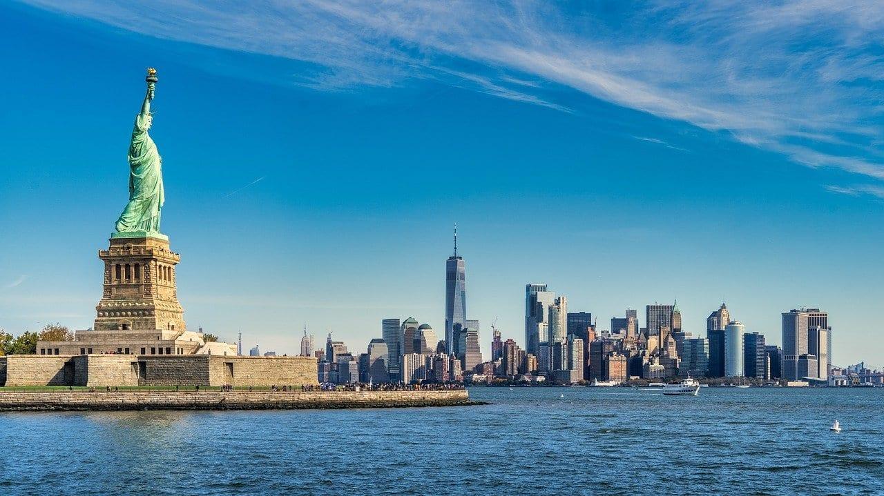 Port de New York, États-Unis