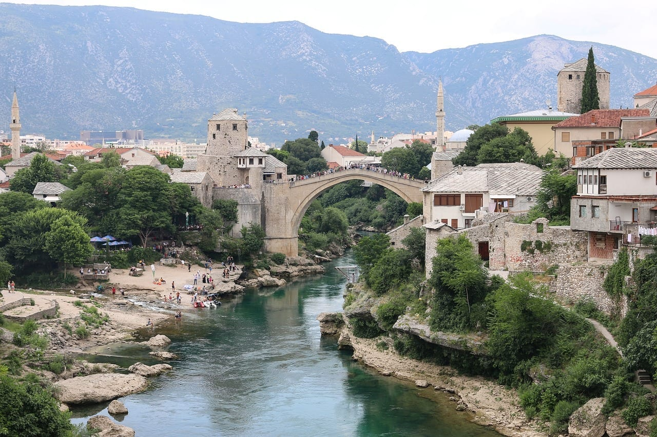 Stari Most, Bosnie-Herzégovine