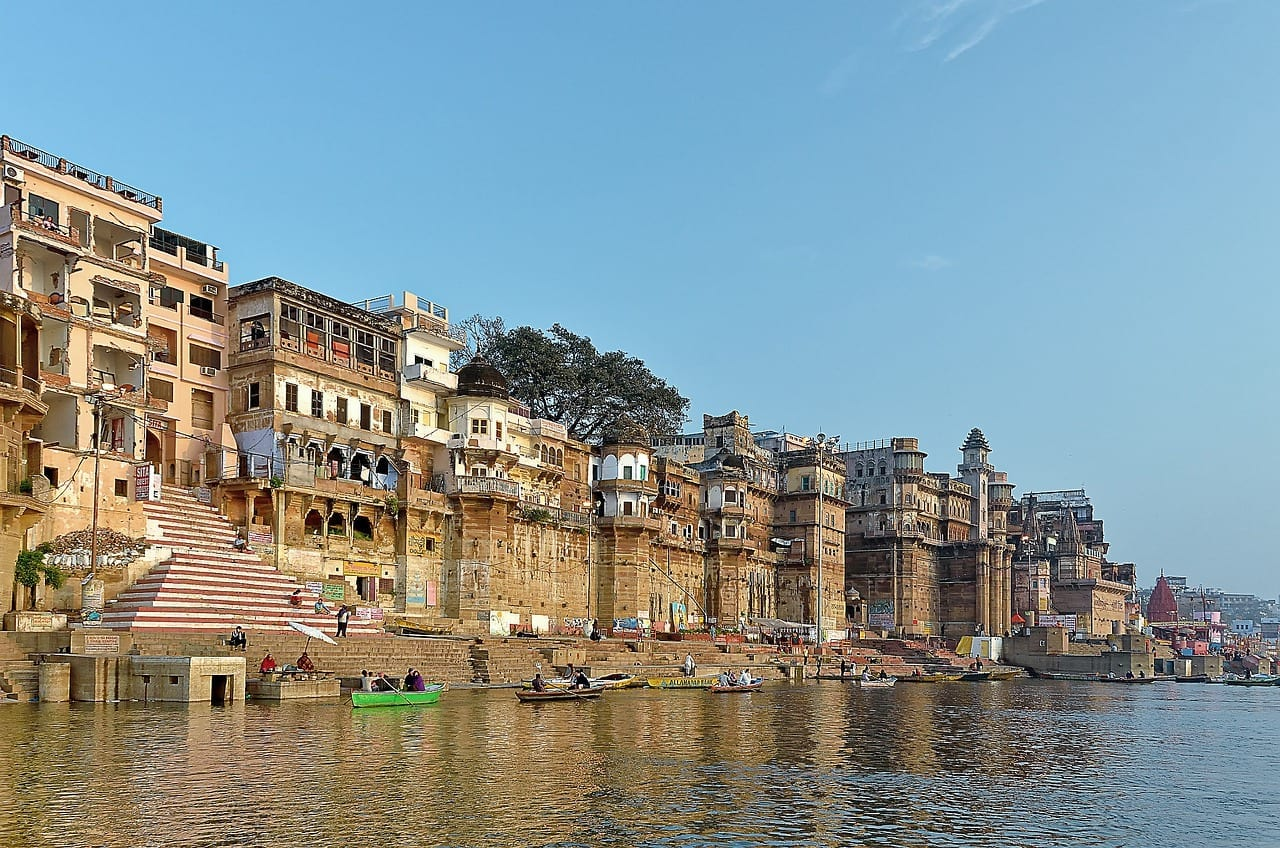 Ville sacré de Varanasi, Inde